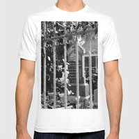Looking Through Mens Fitted Tee White SMALL