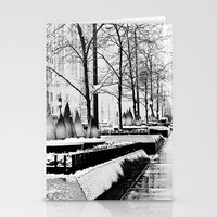Christmas time in Chicago Stationery Cards
