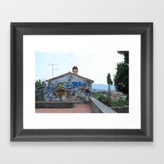 Arezzo Graffiti Framed Art Print