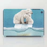 polar ice cream cap 02 iPad Case