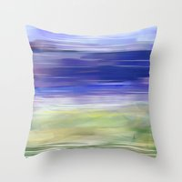 Let The Music Float With… Throw Pillow