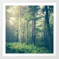 forest Art Prints featuring Inner Peace by Olivia Joy StClaire