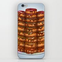 Donuts III 'sparkles&cho… iPhone & iPod Skin