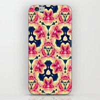 Kaleidoscope Orchids iPhone & iPod Skin