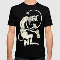 The Devil Mens Fitted Tee Black SMALL