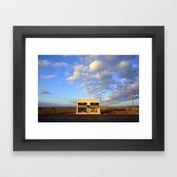 West Texas Art Installation in Marfa Framed Art Print