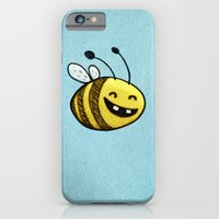 iPhone & iPod Case featuring Bee 2 by MaComiX