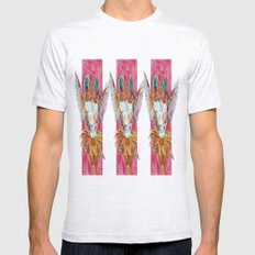 The Ultimate Pollinator, Triptych Mens Fitted Tee Ash Grey SMALL