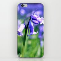 drowning in the bluebell sea iPhone & iPod Skin