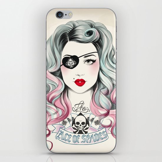 Ace of Spades iPhone & iPod Skin
