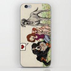 I Love Dogs iPhone & iPod Skin