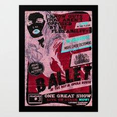 Alternative Opera Posters. Art Print
