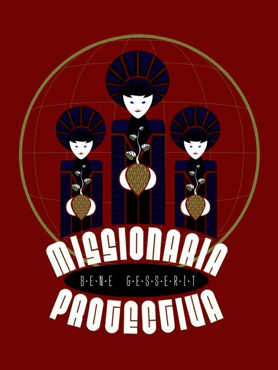Missionaria Protectiva Art Print