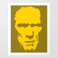 Harry Dots Art Print
