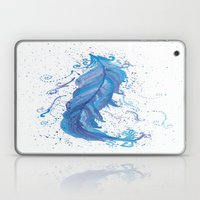 Blue Feather Laptop & iPad Skin