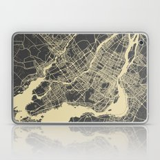 Montreal Map Laptop & iPad Skin