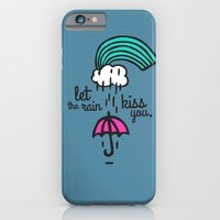 Let the rain kiss you iPhone 6 Slim Case