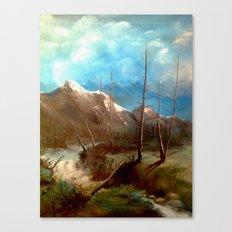 Soguk Nehir Canvas Print