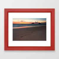 Lanikai Sunrise Framed Art Print