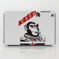 Soviet Space Monkey iPad Case