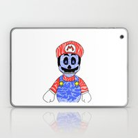 Blue Mario Laptop & iPad Skin