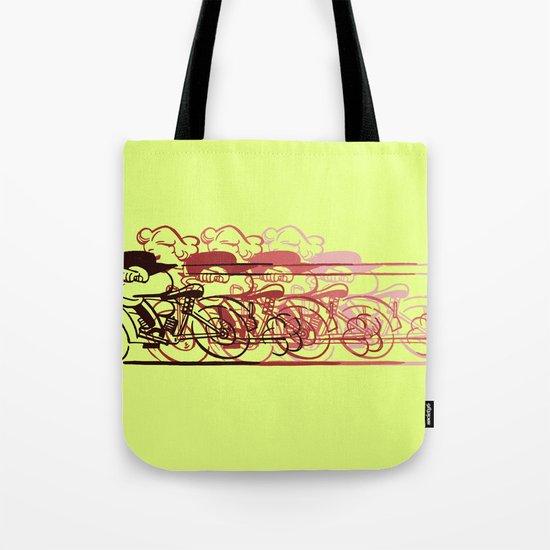 Motorcycle Rider Tote Bag