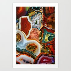 The Earth for the all-pervading Skies, the Moon and the Sun Art Print