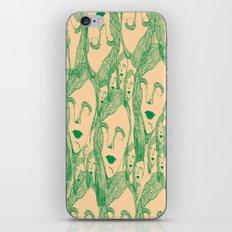 nice lady iPhone & iPod Skin
