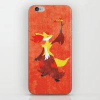 Delphox iPhone & iPod Skin