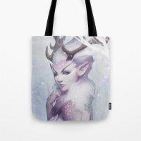 Reindeer Princess Tote Bag