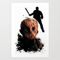 Jason Voorhees: Monster Madness Series Art Print