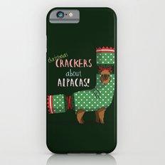 Christmas Crackers About Alpacas! Slim Case iPhone 6s