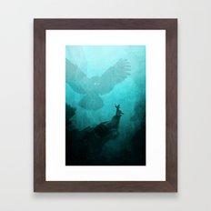 Owl Summoner Framed Art Print