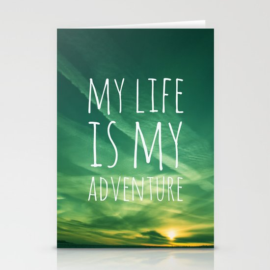 Adventure Stationery Card