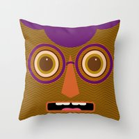 PumkinFrank Throw Pillow