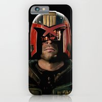 iPhone & iPod Case featuring Dredd by SRB Productions