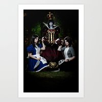 Alice - Madness Returns Art Print