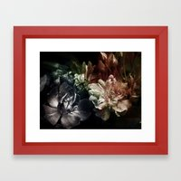 Is it a kind of dreaming...? Framed Art Print