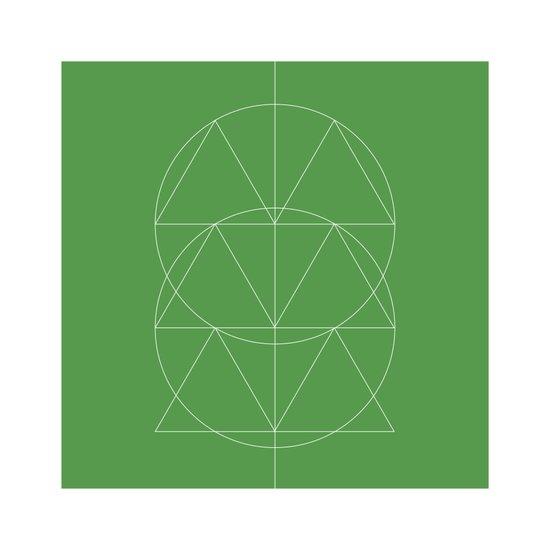 #332 Totem – Geometry Daily Art Print