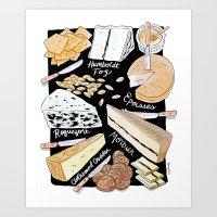 Cheese Plate! Art Print