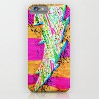 iPhone & iPod Case featuring Lightning by Hugo Diaz Romero