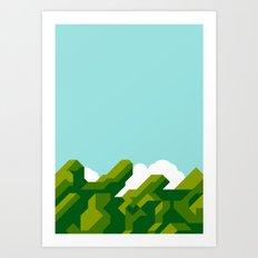 Super Mario World Art Print