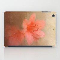 Salmon Azaleas - Flowers iPad Case