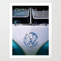 Volkswagen Split Screen Camper Art Print