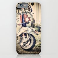 Vintage Moped iPhone 6 Slim Case