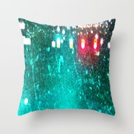 Red Lights Turn Green Throw Pillow