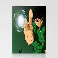 Yusuke Urameshi  Stationery Cards