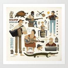 Southern Comfort Art Print