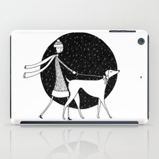 walking in a winter wonderland iPad Case