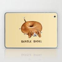 Beagle Bagel Laptop & iPad Skin